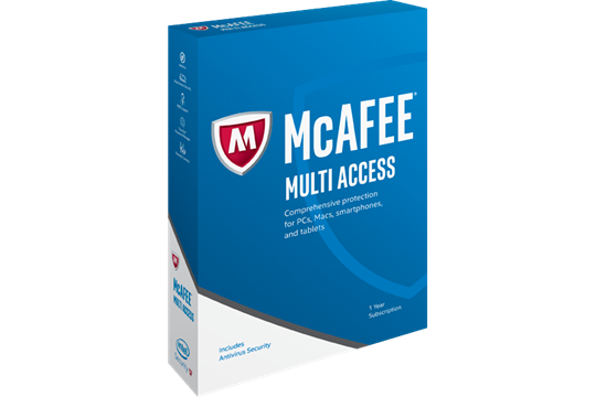 McAfee Multi Access box